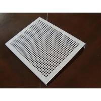 China Durable Decorative Perforated Aluminum Sheet With Holes High Accuracy wholesale