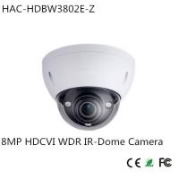 China Dahua 8MP HDCVI WDR IR-Dome Camera (HAC-HDBW3802E-Z) wholesale