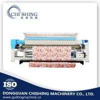 Quality Mattress Single Needle Quilting Machine , Industrial Embroidery Machines 3.2 Meters for sale