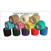 China Cohesive Bandage, High tensile Colored Elastic Non - Woven Hand Tearable wholesale