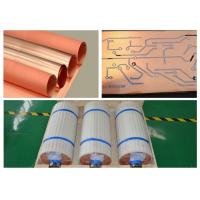 China Standard Width Copper Sheet Roll 12um Thickness With Good Etching Resist Adhesion wholesale