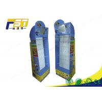China Phone Accessory Pop Up Cardboard Display , Cardboard Display Stands With Hook wholesale