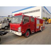 Quality Water Tank Fire Brigade Truck ISUZU 3.5ton 4t 4000 Liters Water Fire Fighting Truck for sale