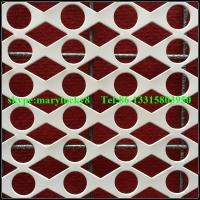 China Round Hole Perforated metals supplier/Decorative perforated sheet metal wholesale
