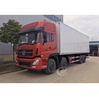 China Dongfeng Commercial Refrigerated Box Truck 12 Wheel 245hp 20 Ton -18 ℃  Degree on sale
