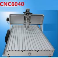 China Mini 6040 CNC engraving machine (1.5KW spindle+2.2KW VFD+4 axis+Tailstock) wholesale