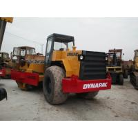 China Dynapac CA30D Second Hand Road Roller with  Pull Behind Rubber Tire Roller for sale on sale