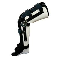 China Adjustable Hinged Knee Ankle Foot Orthosis KAFO Walking Brace S M L Size on sale