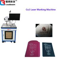 China Air Cooling Co2 Laser Marking Machin For Food Packaging / Wood Products wholesale