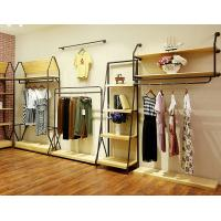 China Durable Lady'S Clothing Display Racks Shop Clothes Rack Fashionable Design wholesale