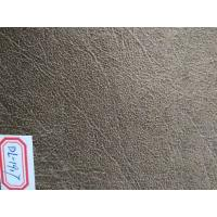 "54"" Width Embossed Suede Leather Fabric , Synthetic Suede Fabric"