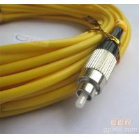 China FC-FC Simplex Fiber Patch Cord For FTTH , CATV, LAN , MAN , WAN on sale