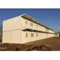 China Environment Friendly Prefab Container House White 5800mm * 2250mm * 2500mm on sale