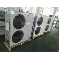China Wall Mounted 5 Ton Hydronic Heat Pump Galvanized Steel Sheet With LCD Finger Touch Display wholesale