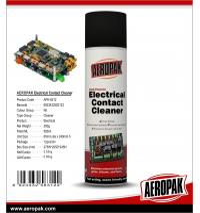 China AEROPAK 500ML aerosol spray can Multi-Purpose Electrical Contact Cleaner wholesale