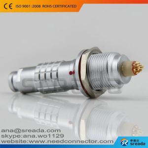 China Alternative solder k series IP68 lemo push pull connectors on sale