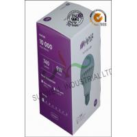 Quality Embossed Printing Electronic Product Packaging Design Light Boxes Spot UV for sale