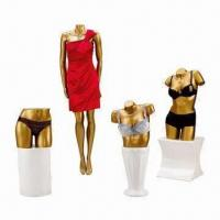 China Display Female Mannequins without Head, Made of Fiberglass and Resin wholesale