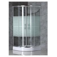 China simple shower enclosure with strip glass wholesale