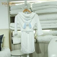 China 5 Star Hotel Quality Bathrobes / Girls Soft Robe Fit Spring And Autumn wholesale