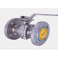 China DN600 Size Q47f-64P Liquid Flanged  Butterfly Valve / Single Flange Butterfly Valve wholesale
