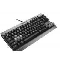 China High End Slim Blue Led Mechanical Gaming Keyboard Humanized Design wholesale