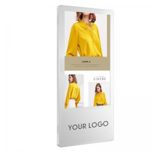 China 23.8'' Wall Mounted Digital Signage Advertising 10-Point Touch 1920*1080 wholesale