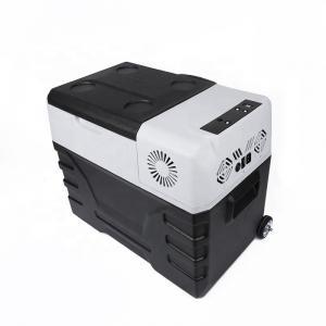 China CE 40L R134a Portable Truck Fridge Freezer / DC Compressor Fridge Freezer wholesale