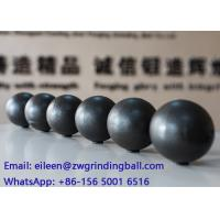 China SAG and AG Ball milling media ,  forged steel grinding ball WITH 50-55HRC Hardness wholesale