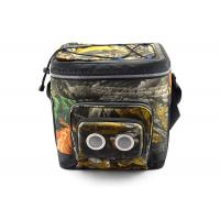 Bluetooth Speaker Bag With Half Opened Flap , cooler with speakers