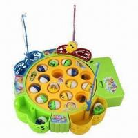 China Fishing game battery toy with music wholesale