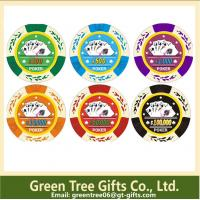 China customized poker chip with your logo abs dice pokerchip casino poker chips on sale