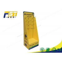 China Recyclable K9 Corrugated Cardboard Peg Hook Display wholesale
