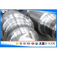 Quality AISI4145H / SCM445 Steel Shaft , OD 80-1200 Mm Mechanical Alloy Steel Shaft for sale