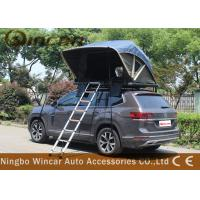 Quality Manually Car Top Roof Rack Tent Open In One Side Aluminum Frame For Suv for sale