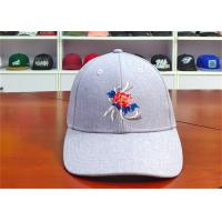 China ACE Creative Flat Rose Embroidery Logo Custom Baseball Cap Leather Buckle Baseball Cap wholesale