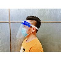 China Fashion Protective Face Shield Anti Dust And Virus Protection 330*220mm Size wholesale
