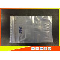 China Resealable Transparent Clear PE Ziplock Plastic Bag And Top Lip With Eco-Mark wholesale