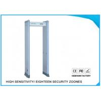 China Airport Door Frame Body Scanner Archway Metal Detector Walkthrough on sale