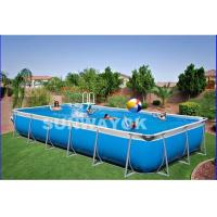 Custom Outdoor Durable Portable Swimming Pools For Kids On Ground Of Funnyinflatabletoys