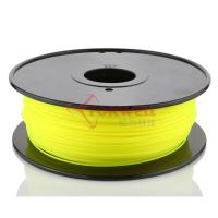 China Torwell Yellow PLA filament for 3D Printer 1.75mm 1KG/spool wholesale