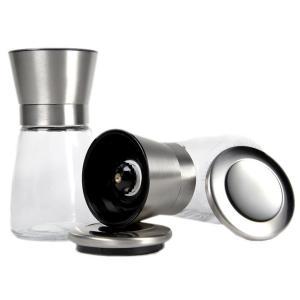 Mini Glass salt pepper mill