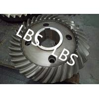 China Steel Spiral Bevel Double Helical Gear Shaft Polishing Anodic Oxidation wholesale