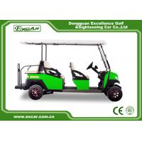 China Electric Golf Club Cart 48 Voltage USA Trojan Battery PC Windshield on sale