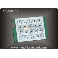 China Customized Keyboard Numeric Keypad with Rugged Stainless Steel Material wholesale