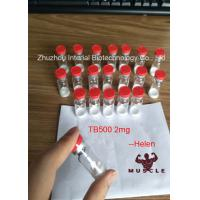 China Protein Peptide Hormones Thymosin Beta 4 /Tb500/Tb-500 Lyophilized Powder for Bulking Cycle wholesale