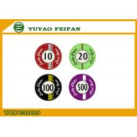China Custom Lucky Poker Chips , Professional Casino Ceramic Poker Chip wholesale