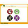 Custom Lucky Poker Chips , Professional Casino Ceramic Poker Chip for sale