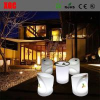 China LED Furniture 16 color changable Whaterproof Furniture LED Glowing Chair For Outdoor Yard Garden Party Club Event Park wholesale
