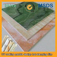 China Realistic Wood Grain Laminate Film , Heat Transfer Printing Film For Plastic Products wholesale
